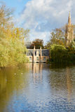 Minnewater pond , Brugge Stock Image