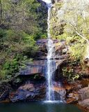 Minni-ha-ha Falls. Reserve Blue Mountains Stock Photos