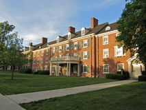 Minnich Hall. Is one of the dorms at Miami University Royalty Free Stock Images