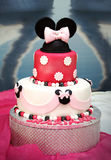 Minnie cake Stock Images