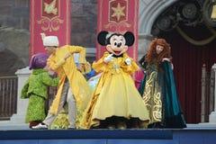 Minnie i Shanghai Disneyland Arkivbilder