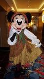 Minnie Mouse como pirata Foto de archivo libre de regalías