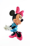 Disney Minnie mouse. Minnie Mouse Disney figure part of a huge private collection of big figs and original Disney store display figures. Minnie mouse is in one Stock Photography