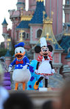 Minnie Mouse and Donald Duck stock image