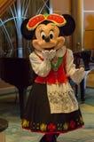 Minnie Mouse en un equipo báltico Fotografía de archivo