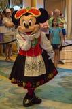 Minnie Mouse en un equipo báltico Fotos de archivo