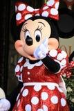 Minnie Mouse får en stjärna arkivfoto