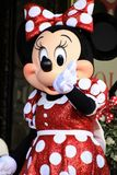 Minnie Mouse gets a star Stock Photo
