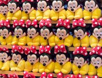 Minnie Mouse-pluchespeelgoed Royalty-vrije Stock Afbeelding