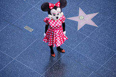 Minnie Mouse tecken arkivbilder