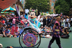 Minnie Mouse. From Tokyo Disneyland. Disney Japan stock photography