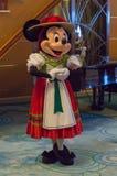 Minnie Mouse um equipamento alemão Fotos de Stock