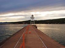 Minnnesota latarnia morska w Uroczystym Marais Obrazy Stock