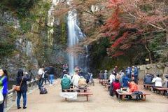 Mino parka jesień zdjęcie stock