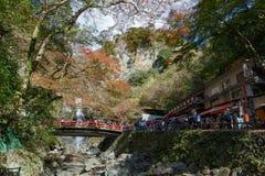 Mino waterfall, Osaka, Japan Royalty Free Stock Photography