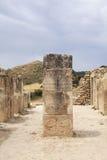 minoan古老的列 免版税图库摄影