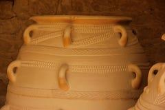 Minoan amfora Arkivfoton