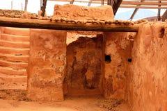 Minoan ruins at Malia, Crete. Stock Images