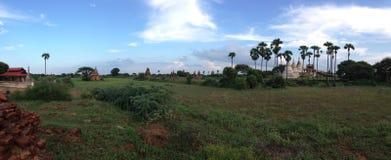 Minochantha寺庙Bagan 库存照片