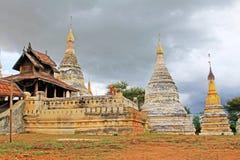 Minochantha-Pagode, Bagan Archaeological Zone, Myanmar Lizenzfreie Stockbilder
