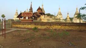 Minochantha stupy grupa w Starym Bagan zdjęcie wideo