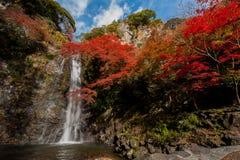 Minoh-Wasserfall Lizenzfreies Stockbild