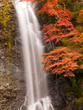 Minoh waterfall in autumn Stock Photo