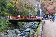 Minoo Japan fotografering för bildbyråer