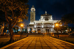 The Minor Basilica and Metropolitan Cathedral of the Immaculate Royalty Free Stock Photo