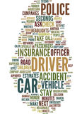 Minor Car Accidents A Minute By Minute Survival Guide Text Background  Word Cloud Concept Royalty Free Stock Photos