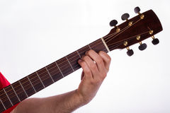 A minor chord, LA minore Stock Photos