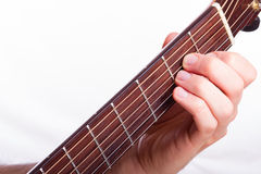 A minor chord Stock Photos