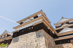 Minor donjon (shotenshu) of Matsuyama castle, Japan Royalty Free Stock Photos