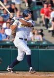 Minor league baseball - batter Stock Photos
