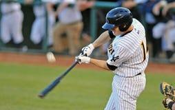 Minor League baseball - batter Royalty Free Stock Photography