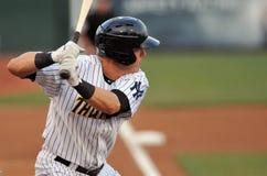 Minor League baseball - batter Stock Images