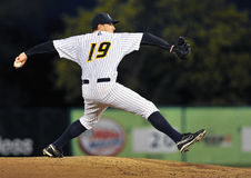 Minor League Baseball pitcher Royalty Free Stock Photos