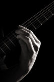Minor ninth chord (E7b9) Royalty Free Stock Photo