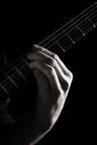 Minor ninth chord (E7b9) royalty free stock photo