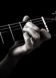 Minor seventh chord (Am7) Royalty Free Stock Image