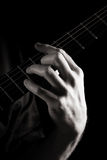 Minor seventh chord (Dm7) Royalty Free Stock Photography