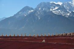 Minoría china en Yunnan Imagen de archivo libre de regalías