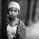 Minoranza etnica fotografie stock