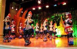 Minoranza in Yunnan Colourful Fotografia Stock
