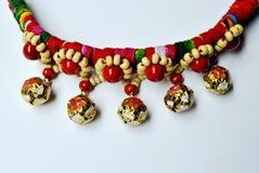 Minoranze degli ornamenti delle perle degli ornamenti dei mestieri Fotografie Stock Libere da Diritti
