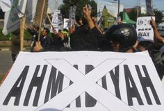MINORANZE RELIGIOSE DELL'INDONESIA Fotografie Stock