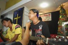 MINORANZE RELIGIOSE DELL'INDONESIA Fotografia Stock Libera da Diritti