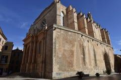 Minorca Cathedral in Ciutadella, Spain Royalty Free Stock Photos