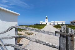 Minorca Lighthouse Royalty Free Stock Photos