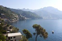 Minori - costa di Amalfi Fotografia Stock Libera da Diritti